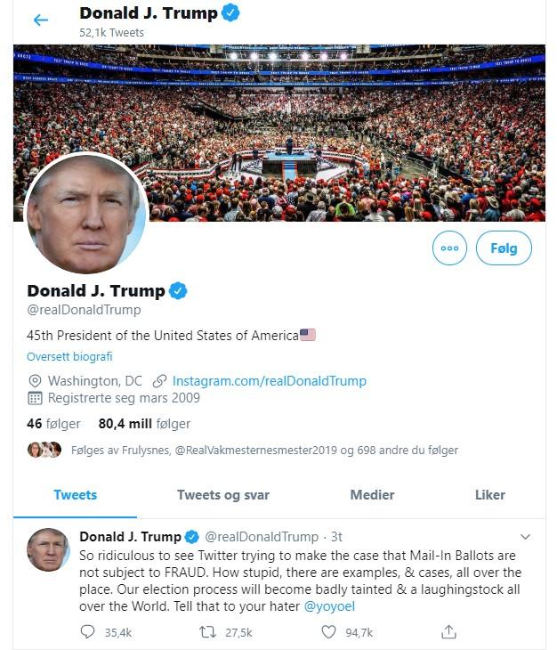 Tenketanker #48 – TrumpsTwitter